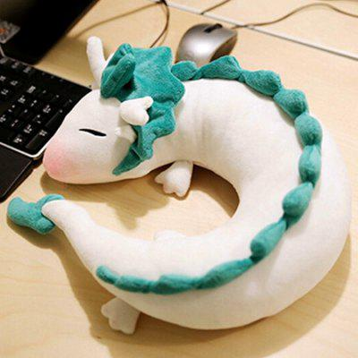 Cartoon Dragon Pattern U Shape Neck Pillow
