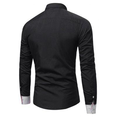 WSGYJ Male Trendy Elegant Blend Color ShirtMens Shirts<br>WSGYJ Male Trendy Elegant Blend Color Shirt<br><br>Brand: WSGYJ<br>Package Contents: 1 x Shirt<br>Package size: 40.00 x 30.00 x 4.00 cm / 15.75 x 11.81 x 1.57 inches<br>Package weight: 0.3200 kg<br>Product weight: 0.3000 kg