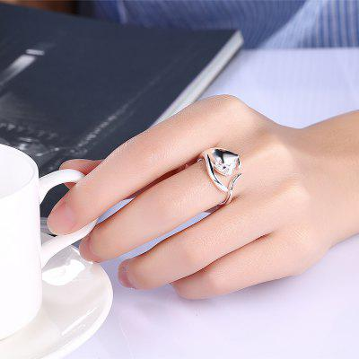 Women Fashionable Adorable Cat Silver Plated Pattern RingRings<br>Women Fashionable Adorable Cat Silver Plated Pattern Ring<br><br>Occasions: Casual, Party<br>Package Contents: 1 x Ring<br>Package size (L x W x H): 6.00 x 6.00 x 4.00 cm / 2.36 x 2.36 x 1.57 inches<br>Package weight: 0.0020 kg<br>Product weight: 0.0019 kg<br>Style: Animal, Cute, Fashion<br>Type: Rings
