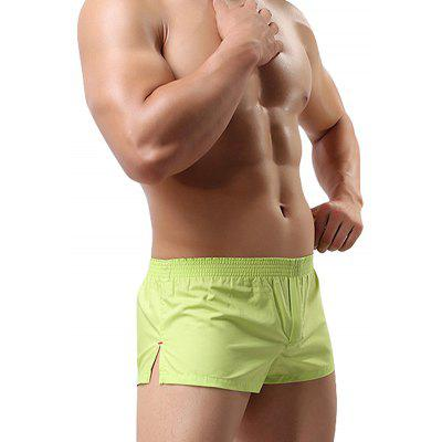 HYD1342 Male Sexy Low Waist Cotton House BoxersMens Underwear &amp; Pajamas<br>HYD1342 Male Sexy Low Waist Cotton House Boxers<br><br>Material: Cotton, Spandex<br>Occasion: Casual<br>Package Contents: 1 x Boxers<br>Package size: 10.00 x 8.00 x 2.00 cm / 3.94 x 3.15 x 0.79 inches<br>Package weight: 1.0000 kg<br>Pattern: Solid Color<br>Product weight: 0.0800 kg<br>Style: Casual