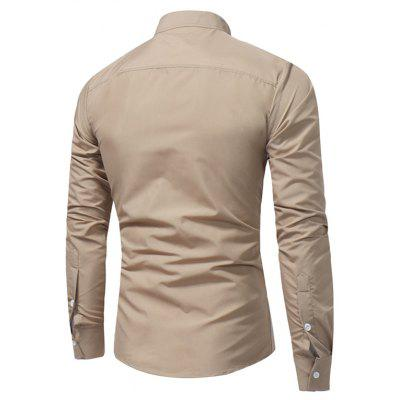 WSGYJ Graceful Trendy Slim Shirt for MenMens Shirts<br>WSGYJ Graceful Trendy Slim Shirt for Men<br><br>Brand: WSGYJ<br>Package Contents: 1 x Shirt<br>Package size: 40.00 x 30.00 x 4.00 cm / 15.75 x 11.81 x 1.57 inches<br>Package weight: 0.3200 kg<br>Product weight: 0.3000 kg