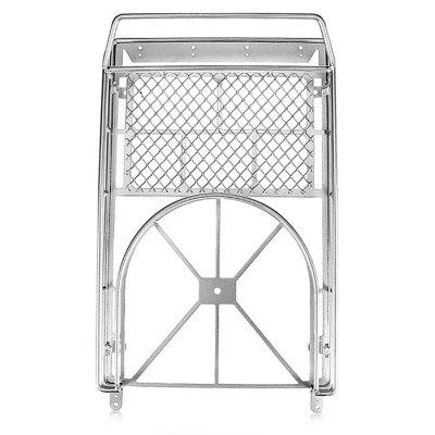 Metal Luggage Rack with Spare Tire Clip