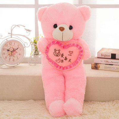 Plush Toy with Creative Gleamy Bear Style