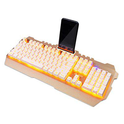 Ajazz Membrane Keyboard Supporting BacklightKeyboards<br>Ajazz Membrane Keyboard Supporting Backlight<br><br>Bluetooth Version: Not Supported<br>Brand: Ajazz<br>Cable Length (m): 1.6m<br>Connection: Wired<br>Interface: USB 2.0<br>Key Number: 102<br>Keyboard Lifespan ( times): 10 million<br>Keyboard Type: Membrane Keyboards<br>Material: ABS<br>Package Contents: 1 x Ajazz Membrane Keyboard<br>Package size (L x W x H): 48.00 x 22.60 x 5.00 cm / 18.9 x 8.9 x 1.97 inches<br>Package weight: 1.4000 kg<br>Product size (L x W x H): 46.40 x 19.20 x 4.00 cm / 18.27 x 7.56 x 1.57 inches<br>Product weight: 1.2000 kg<br>Response Speed: 2ms<br>Type: Keyboard