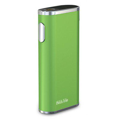 Buy GREEN Eleaf iStick Trim Mod with 1800mAh for $20.39 in GearBest store