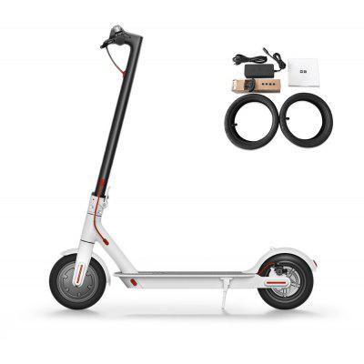 Buy Original Xiaomi M365 Folding Electric Scooter Europe Version, WHITE, Outdoors & Sports, Outdoor Recreation, Scooters and Wheels for $519.39 in GearBest store