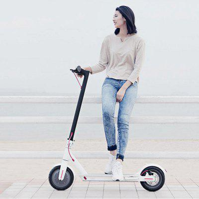 Original Xiaomi M365 Folding Electric Scooter Europe Version original scooter rubber rear wheel for etwow s2 electric scooter