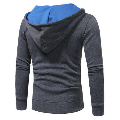 Male Casual Fashion Stitching Color HoodieMens Hoodies &amp; Sweatshirts<br>Male Casual Fashion Stitching Color Hoodie<br><br>Package Contents: 1 x Hoodie<br>Package size: 40.00 x 30.00 x 4.00 cm / 15.75 x 11.81 x 1.57 inches<br>Package weight: 0.4800 kg<br>Product weight: 0.4600 kg