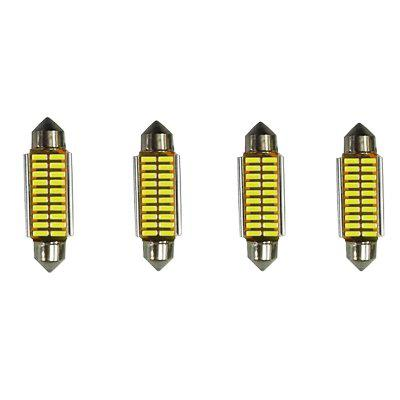 39MM Car Interior Reading / License Plate / Door Light 4pcs
