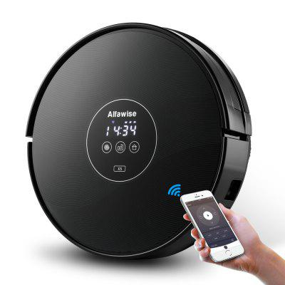 Gearbest Alfawise X5 Robotic Vacuum Cleaner Strong Suction Work with Alexa