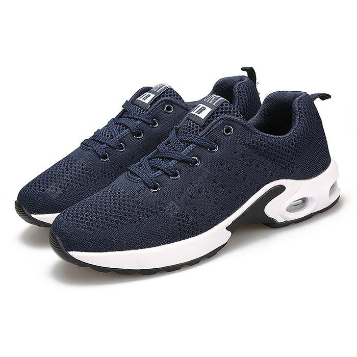 Male Breathable Soft Outdoor Ultralight Athletic Shoes 41 BLUE