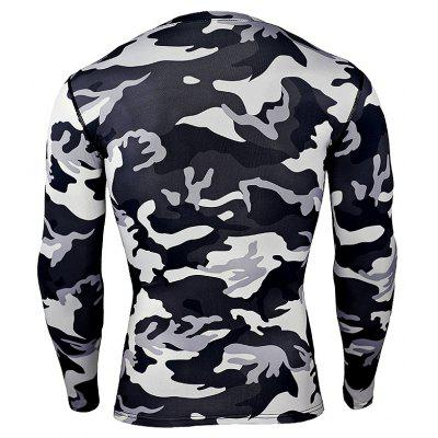 Long Sleeves Sports Tight Elastic T-shirt for MenWeight Lifting Clothes<br>Long Sleeves Sports Tight Elastic T-shirt for Men<br><br>Features: Breathable, High elasticity, Quick Dry<br>Gender: Men<br>Material: Polyester, Spandex<br>Package Content: 1 x T-shirt<br>Package size: 35.00 x 30.00 x 2.00 cm / 13.78 x 11.81 x 0.79 inches<br>Package weight: 0.2200 kg<br>Product weight: 0.2000 kg<br>Types: Long Sleeves