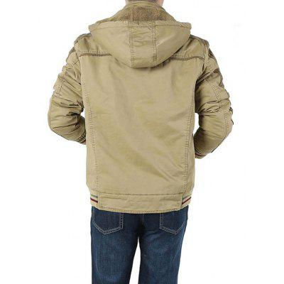 Jeep Rich Fashion Padded JacketMens Jackets &amp; Coats<br>Jeep Rich Fashion Padded Jacket<br><br>Brand: Jeep Rich<br>Closure Type: Zipper<br>Clothes Type: Jackets<br>Collar: Hooded<br>Embellishment: Others<br>Materials: Cotton<br>Occasion: Daily Use<br>Package Content: 1 x Jacket<br>Package Dimension: 35.00 x 25.00 x 2.00 cm / 13.78 x 9.84 x 0.79 inches<br>Package weight: 1.2200 kg<br>Pattern Type: Solid<br>Product weight: 1.2000 kg<br>Seasons: Winter<br>Shirt Length: Regular<br>Sleeve Length: Long Sleeves<br>Style: Casual<br>Thickness: Thickening