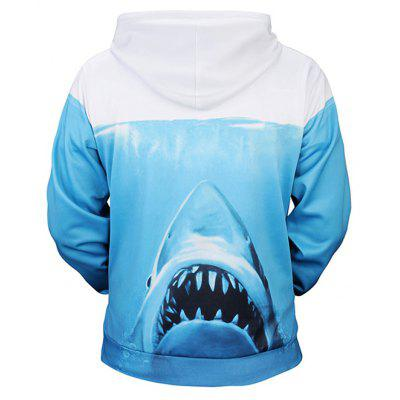 Fashion Shark Printing Hoodie SweatshirtMens Hoodies &amp; Sweatshirts<br>Fashion Shark Printing Hoodie Sweatshirt<br><br>Clothes Type: Hoodie<br>Material: Polyester, Spandex<br>Occasion: Casual<br>Package Contents: 1 x Sweatshirt<br>Package size: 38.00 x 30.00 x 2.00 cm / 14.96 x 11.81 x 0.79 inches<br>Package weight: 0.4800 kg<br>Product weight: 0.4500 kg<br>Style: Casual<br>Thickness: Regular