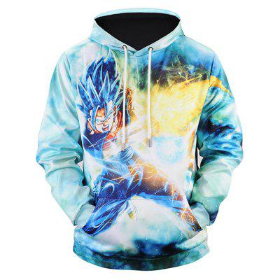 Comfortable Cartoon 3D Printing Hoodie Sweatshirt