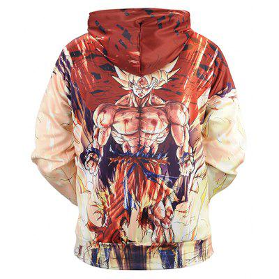 Casual Cartoon Printing Plus Size Hoodie SweatshirtMens Hoodies &amp; Sweatshirts<br>Casual Cartoon Printing Plus Size Hoodie Sweatshirt<br><br>Clothes Type: Hoodie<br>Material: Polyester, Spandex<br>Occasion: Casual<br>Package Contents: 1 x Sweatshirt<br>Package size: 38.00 x 30.00 x 2.00 cm / 14.96 x 11.81 x 0.79 inches<br>Package weight: 0.4800 kg<br>Product weight: 0.4500 kg<br>Style: Casual<br>Thickness: Regular