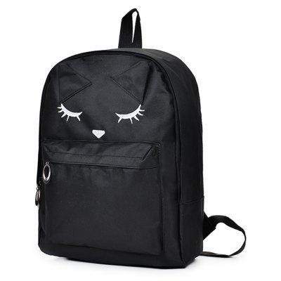 Woman Durable Faddish Travel School BackpackBackpacks<br>Woman Durable Faddish Travel School Backpack<br><br>Features: Wearable<br>Gender: Women<br>Material: Oxford Fabric<br>Package Size(L x W x H): 28.00 x 15.00 x 40.00 cm / 11.02 x 5.91 x 15.75 inches<br>Package weight: 0.4200 kg<br>Packing List: 1 x Backpack<br>Product Size(L x W x H): 27.00 x 14.00 x 39.00 cm / 10.63 x 5.51 x 15.35 inches<br>Product weight: 0.3200 kg<br>Style: Fashion<br>Type: Backpacks