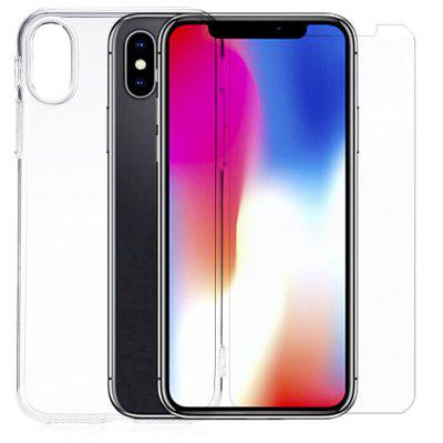 Buy Protective Kit for iPhone X, TRANSPARENT, Mobile Phones, Apple Accessories, iPhone Accessories, iPhone Cases/Covers for $4.49 in GearBest store