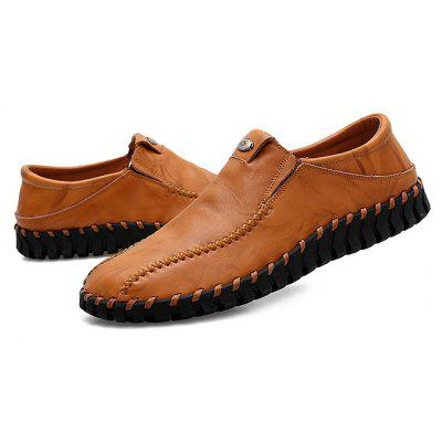 Male Retro Soft Grained Light Casual Oxford ShoesMen's Oxford<br>Male Retro Soft Grained Light Casual Oxford Shoes<br><br>Closure Type: Slip-On<br>Contents: 1 x Pair of Shoes, 1 x Box, 1 x Dustproof Paper<br>Function: Slip Resistant<br>Materials: Rubber, Genuine Leather<br>Occasion: Tea Party, Shopping, Office, Holiday, Casual, Party, Daily, Dress, Formal<br>Outsole Material: Rubber<br>Package Size ( L x W x H ): 33.00 x 24.00 x 13.00 cm / 12.99 x 9.45 x 5.12 inches<br>Package Weights: 0.90kg<br>Seasons: Autumn,Spring<br>Style: Leisure, Formal, Fashion, Comfortable, Casual, Business<br>Toe Shape: Round Toe<br>Type: Casual Leather Shoes<br>Upper Material: Genuine Leather