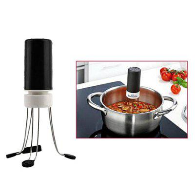Kitchen Creative Plastic Automatic Eggbeater BlenderOther Cooking Tools<br>Kitchen Creative Plastic Automatic Eggbeater Blender<br><br>Package Contents: 1 x Food Blender<br>Package Size(L x W x H): 11.70 x 10.30 x 11.70 cm / 4.61 x 4.06 x 4.61 inches<br>Package weight: 0.1270 kg<br>Product Size(L x W x H): 4.50 x 4.50 x 13.00 cm / 1.77 x 1.77 x 5.12 inches<br>Product weight: 0.1250 kg