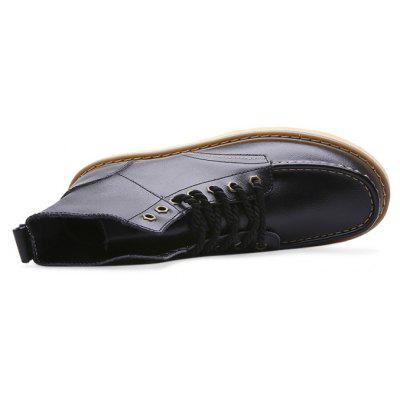 Male Nostalgic All-matched High Top Casual Martin BootsMens Boots<br>Male Nostalgic All-matched High Top Casual Martin Boots<br><br>Closure Type: Lace-Up<br>Contents: 1 x Pair of Shoes, 1 x Box, 1 x Dustproof Paper<br>Function: Slip Resistant<br>Materials: Genuine Leather, Rubber<br>Occasion: Riding, Running, Shopping, Tea Party, Rainy Day, Party, Outdoor Clothing, Casual, Daily, Dress, Holiday, Office<br>Outsole Material: Rubber<br>Package Size ( L x W x H ): 33.00 x 24.00 x 13.00 cm / 12.99 x 9.45 x 5.12 inches<br>Package Weights: 0.90kg<br>Pattern Type: Solid<br>Seasons: Autumn,Spring<br>Style: Modern, Leisure, Fashion, Comfortable, Casual<br>Toe Shape: Round Toe<br>Type: Boots<br>Upper Material: Genuine Leather