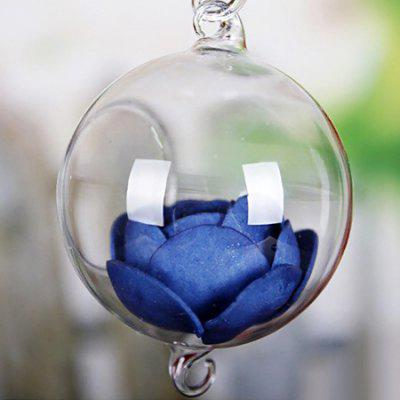 Fashionable Glass Greenhouse Ball Shape Hanging Vase