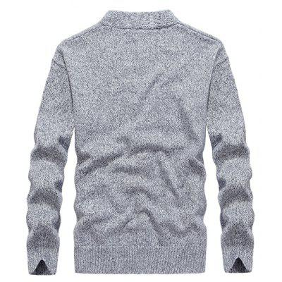 Fashion Slim Fit V Collar SweaterMens Sweaters &amp; Cardigans<br>Fashion Slim Fit V Collar Sweater<br><br>Brand: JOOBOX<br>Closure Type: Button<br>Material: Cotton<br>Package Contents: 1 x Sweater<br>Package size: 30.00 x 20.00 x 3.00 cm / 11.81 x 7.87 x 1.18 inches<br>Package weight: 0.6200 kg<br>Product weight: 0.6000 kg<br>Style: Casual