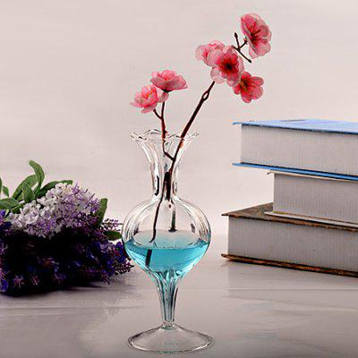 Glass Flower Hydroponic Home Decor Vase