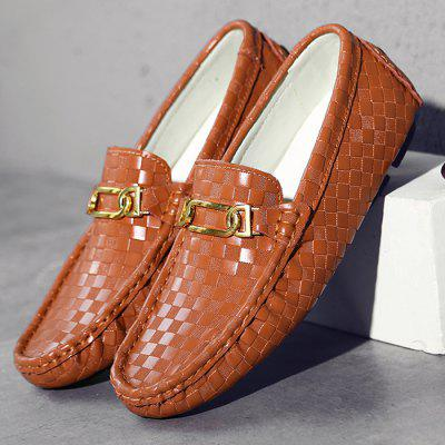 Male British Soft Light Metal Buckle Casual Loafer Leather ShoesCasual Shoes<br>Male British Soft Light Metal Buckle Casual Loafer Leather Shoes<br><br>Closure Type: Buckle Strap, Slip-On<br>Contents: 1 x Pair of Shoes, 1 x Box, 1 x Dustproof Paper<br>Function: Slip Resistant<br>Materials: Leather, Rubber<br>Occasion: Party, Tea Party, Shopping, Office, Formal, Dress, Casual, Daily<br>Outsole Material: Rubber<br>Package Size ( L x W x H ): 33.00 x 22.00 x 11.00 cm / 12.99 x 8.66 x 4.33 inches<br>Package Weights: 0.85kg<br>Pattern Type: Solid<br>Seasons: Autumn,Spring<br>Style: Modern, Leisure, Formal, Fashion, Comfortable, Casual, Business<br>Toe Shape: Round Toe<br>Type: Casual Leather Shoes<br>Upper Material: Leather
