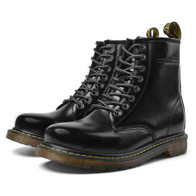 Masculino Classic Lustrous High Top Casual Martin Boots