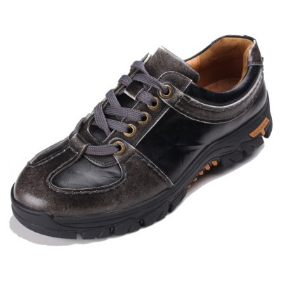 Male Outdoor Versatile Stereo Star Motif Casual Leather ShoesCasual Shoes<br>Male Outdoor Versatile Stereo Star Motif Casual Leather Shoes<br><br>Closure Type: Lace-Up<br>Contents: 1 x Pair of Shoes, 1 x Box, 1 x Dustproof Paper<br>Decoration: Split Joint<br>Function: Slip Resistant<br>Materials: Rubber, Leather<br>Occasion: Sports, Shopping, Riding, Rainy Day, Casual, Daily, Running, Holiday, Outdoor Clothing, Party<br>Outsole Material: Rubber<br>Package Size ( L x W x H ): 33.00 x 24.00 x 13.00 cm / 12.99 x 9.45 x 5.12 inches<br>Package Weights: 1.00kg<br>Seasons: Autumn,Spring<br>Style: Modern, Leisure, Fashion, Comfortable, Casual<br>Toe Shape: Round Toe<br>Type: Casual Leather Shoes<br>Upper Material: Leather