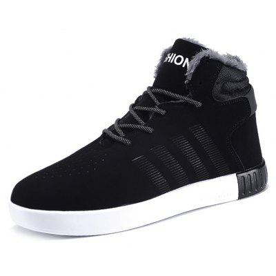 Male Fresh Breathable Soft Plush Ankle Top Casual SneakersMen's Sneakers<br>Male Fresh Breathable Soft Plush Ankle Top Casual Sneakers<br><br>Closure Type: Lace-Up<br>Contents: 1 x Pair of Shoes, 1 x Box<br>Function: Puncture Resistant, Slip Resistant<br>Materials: PU, Leather<br>Occasion: Sports, Shopping, Riding, Party, Casual, Running, Daily, Holiday, Outdoor Clothing<br>Outsole Material: PU<br>Package Size ( L x W x H ): 30.00 x 20.00 x 13.00 cm / 11.81 x 7.87 x 5.12 inches<br>Package Weights: 0.80kg<br>Pattern Type: Solid<br>Seasons: Autumn,Spring<br>Style: Modern, Leisure, Fashion, Comfortable, Casual<br>Toe Shape: Round Toe<br>Type: Sports Shoes<br>Upper Material: Leather