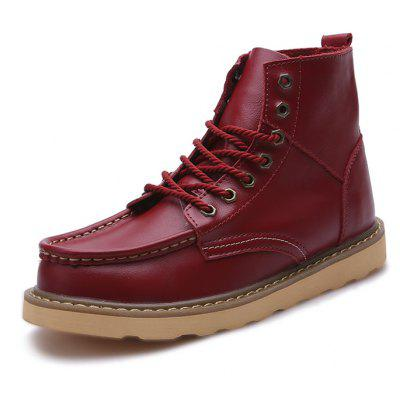 Male Nostalgic All-matched High Top Casual Martin Boots