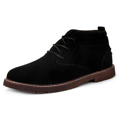 Male Trendy Soft Wearable Ankle Padded Casual Leather ShoesCasual Shoes<br>Male Trendy Soft Wearable Ankle Padded Casual Leather Shoes<br><br>Closure Type: Lace-Up<br>Contents: 1 x Pair of Shoes, 1 x Box<br>Function: Slip Resistant<br>Materials: Rubber, Leather<br>Occasion: Tea Party, Shopping, Office, Holiday, Party, Casual, Daily, Dress<br>Outsole Material: Rubber<br>Package Size ( L x W x H ): 30.00 x 20.00 x 13.00 cm / 11.81 x 7.87 x 5.12 inches<br>Package Weights: 0.82kg<br>Pattern Type: Solid<br>Seasons: Autumn,Spring<br>Style: Modern, Leisure, Fashion, Comfortable, Casual, Business<br>Toe Shape: Round Toe<br>Type: Casual Leather Shoes<br>Upper Material: Leather