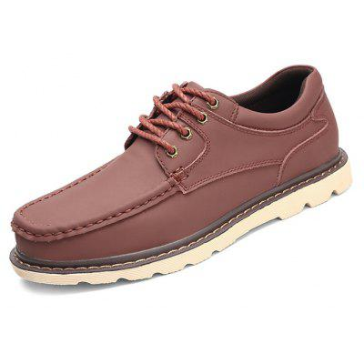 Male Nostalgic Soft Stitching Plus Size Casual Leather ShoesCasual Shoes<br>Male Nostalgic Soft Stitching Plus Size Casual Leather Shoes<br><br>Closure Type: Lace-Up<br>Contents: 1 x Pair of Shoes, 1 x Box, 1 x Dustproof Paper<br>Function: Slip Resistant<br>Materials: Leather, Rubber<br>Occasion: Tea Party, Shopping, Party, Office, Holiday, Formal, Dress, Daily, Casual<br>Outsole Material: Rubber<br>Package Size ( L x W x H ): 33.00 x 22.00 x 11.00 cm / 12.99 x 8.66 x 4.33 inches<br>Package Weights: 0.85kg<br>Pattern Type: Solid<br>Seasons: Autumn,Spring<br>Style: Modern, Leisure, Formal, Fashion, Comfortable, Casual, Business<br>Toe Shape: Round Toe<br>Type: Casual Leather Shoes<br>Upper Material: Leather