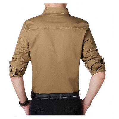 Jeep Rich HYD1357 Sleek Long Sleeve Men ShirtMens Shirts<br>Jeep Rich HYD1357 Sleek Long Sleeve Men Shirt<br><br>Brand: Jeep Rich<br>Closure Type: Button<br>Material: Cotton<br>Package Contents: 1 x Shirt<br>Package size: 35.00 x 25.00 x 2.00 cm / 13.78 x 9.84 x 0.79 inches<br>Package weight: 0.5200 kg<br>Pattern: Solid Color<br>Product weight: 0.5000 kg<br>Style: Casual, Brief