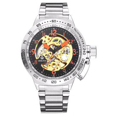 MG.ORKINA ORK1092 Stainless Steel Band Men Watch