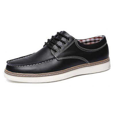 Male Nostalgic Soft British Plaid Casual Leather ShoesCasual Shoes<br>Male Nostalgic Soft British Plaid Casual Leather Shoes<br><br>Closure Type: Lace-Up<br>Contents: 1 x Pair of Shoes, 1 x Box, 1 x Dustproof Paper<br>Function: Slip Resistant<br>Materials: Leather, Rubber<br>Occasion: Tea Party, Shopping, Party, Office, Holiday, Formal, Dress, Daily, Casual<br>Outsole Material: Rubber<br>Package Size ( L x W x H ): 33.00 x 22.00 x 11.00 cm / 12.99 x 8.66 x 4.33 inches<br>Package Weights: 0.85kg<br>Pattern Type: Solid<br>Seasons: Autumn,Spring<br>Style: Modern, Leisure, Formal, Fashion, Comfortable, Casual, Business<br>Toe Shape: Round Toe<br>Type: Casual Leather Shoes<br>Upper Material: Leather