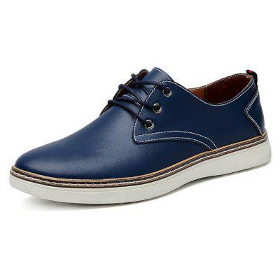 Male British Business Nostalgic Soft Casual Leather ShoesCasual Shoes<br>Male British Business Nostalgic Soft Casual Leather Shoes<br><br>Closure Type: Lace-Up<br>Contents: 1 x Pair of Shoes, 1 x Box, 1 x Dustproof Paper<br>Function: Slip Resistant<br>Materials: Leather, Rubber<br>Occasion: Tea Party, Shopping, Party, Office, Holiday, Formal, Dress, Daily, Casual<br>Outsole Material: Rubber<br>Package Size ( L x W x H ): 33.00 x 22.00 x 11.00 cm / 12.99 x 8.66 x 4.33 inches<br>Package Weights: 0.85kg<br>Pattern Type: Solid<br>Seasons: Autumn,Spring<br>Style: Modern, Leisure, Formal, Fashion, Comfortable, Casual, Business<br>Toe Shape: Round Toe<br>Type: Casual Leather Shoes<br>Upper Material: Leather