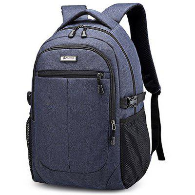 Men Durable Large Capacity Backpack with USB Port