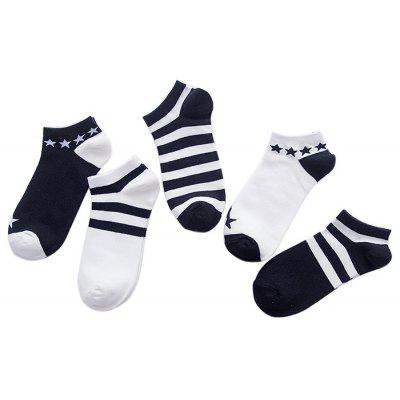 5 Paired Cool All-match Breathable Crew Socks for MenMens Socks<br>5 Paired Cool All-match Breathable Crew Socks for Men<br><br>Contents: 5 x Pair of Socks<br>Gender: Men<br>Material: Wool, Cony Hair<br>Package size (L x W x H): 16.00 x 4.00 x 3.00 cm / 6.3 x 1.57 x 1.18 inches<br>Package weight: 0.0250 kg<br>Pattern Type: Striped<br>Product weight: 0.0200 kg<br>Style: Casual<br>Type: Socks