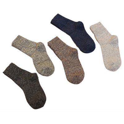 5 Paired Men Warm Business Wool Solid SocksMens Socks<br>5 Paired Men Warm Business Wool Solid Socks<br><br>Contents: 5 x Pair of Socks<br>Gender: Men<br>Material: Wool<br>Package size (L x W x H): 25.00 x 4.00 x 7.00 cm / 9.84 x 1.57 x 2.76 inches<br>Package weight: 0.0250 kg<br>Pattern Type: Solid<br>Product weight: 0.0200 kg<br>Style: Casual<br>Type: Socks