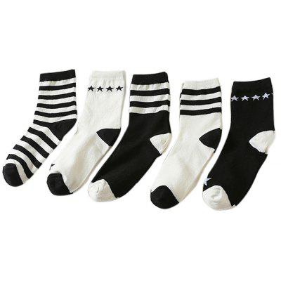 5 Paired Warm Women Deodorant Fashion Socks