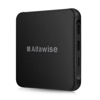 Alfawise S95 TV BoxTV Box<br>Alfawise S95 TV Box<br><br>Audio format: AAC, WMA, AMR-NB, AMR-WB, APE, MP3, OGG, WAV<br>Brand: Alfawise<br>Core: Quad Core<br>CPU: ARM Cortex-A53<br>Decoder Format: H.264, H.265, RealVideo8/9/10<br>DVD Support: Yes<br>External Subtitle Supported: Yes<br>GPU: Mali-450<br>HDMI Function: HDCP<br>HDMI Version: 2.0<br>Interface: DC Power Port, AV, HDMI, LAN, Optical, Reset Port, USB2.0, TF card<br>Language: Multi-language<br>Maximum External Hard Drives Capacity: 4TB<br>Model: S95<br>Other Functions: DLNA, 3D Video, PAL, NTSC, 3D Games, Miracast<br>Package Contents: 1 x TV Box, 1 x HDMI Cable, 1 x Charger Adapter, 1 x Remote Controller, 1 x English Manual<br>Package size (L x W x H): 19.50 x 11.50 x 6.50 cm / 7.68 x 4.53 x 2.56 inches<br>Package weight: 0.4200 kg<br>Photo Format: JPEG, TIFF, PNG, BMP, GIF<br>Power Consumption.: DC 5V 2A<br>Power Supply: Charge Adapter<br>Power Type: External Power Adapter Mode<br>Processor: Amlogic S905W<br>Product size (L x W x H): 10.50 x 10.50 x 1.50 cm / 4.13 x 4.13 x 0.59 inches<br>Product weight: 0.1200 kg<br>RAM Type: DDR3<br>RJ45 Port Speed: 100M LAN<br>Support 5.1 Surround Sound Output: Yes<br>System: Android 7.1<br>System Activation: Yes<br>System Bit: 64Bit<br>Type: TV Box<br>Video format: MPEG2, H.265, RM, PMP, MPEG4, MP4, MKV, WMV, M4V, VOB, H.264, FLV, AVI, 4K, 3GP, RMVB
