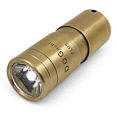 DQG Hobi PLUS Ti CREE XPG2 3000 - 3500K LED Flashlight