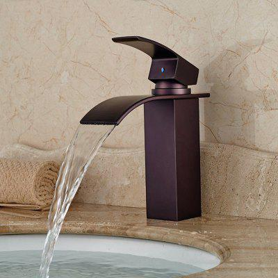 Unique Single Handle Bathroom Basin Faucet