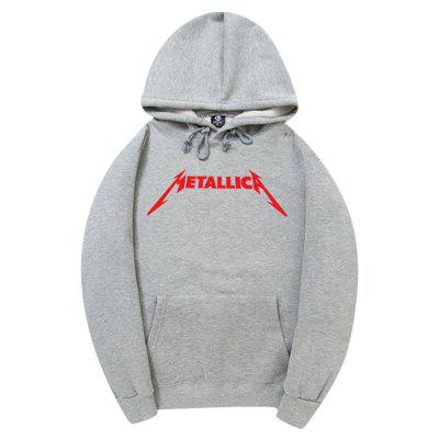 HZIJUE Cool Loose Hoodie for Men