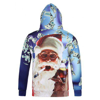 Smoking Santa Claus Printing  Christmas Hoodie SweatshirtMens Hoodies &amp; Sweatshirts<br>Smoking Santa Claus Printing  Christmas Hoodie Sweatshirt<br><br>Clothes Type: Hoodie<br>Material: Polyester, Spandex<br>Occasion: Casual<br>Package Contents: 1 x Hoodie Sweatshirt<br>Package size: 38.00 x 30.00 x 2.00 cm / 14.96 x 11.81 x 0.79 inches<br>Package weight: 0.4800 kg<br>Product weight: 0.4500 kg<br>Style: Casual<br>Thickness: Regular