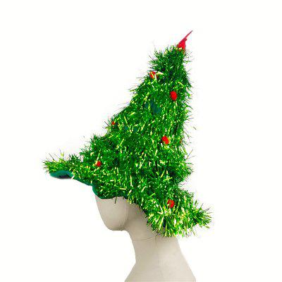 Novelty Christmas Tree Hat with Garland and Gold StarMens Hats<br>Novelty Christmas Tree Hat with Garland and Gold Star<br><br>Contents: 1 x Hat<br>Gender: Unisex<br>Material: Polyester<br>Package size (L x W x H): 15.00 x 15.00 x 3.00 cm / 5.91 x 5.91 x 1.18 inches<br>Package weight: 0.1000 kg<br>Product weight: 0.0800 kg<br>Type: Christmas Tree Hat
