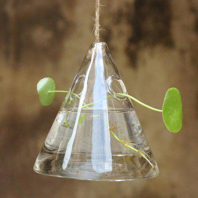 Plant Terrariums Home Art Glass Greenhouse Hanging Vase